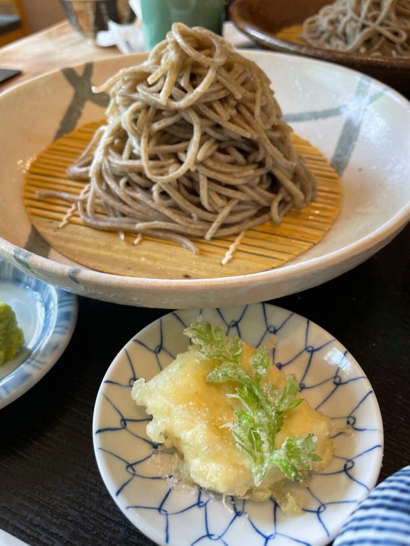 一風庵 湯葉の天ぷらと横田小そば
