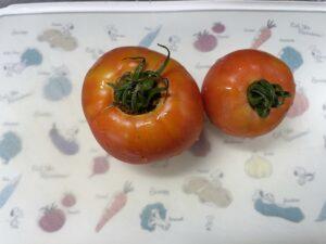 トマト2個