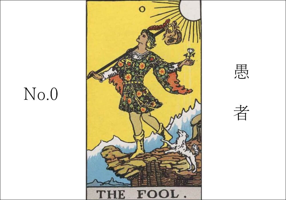 no.01 愚者 fool